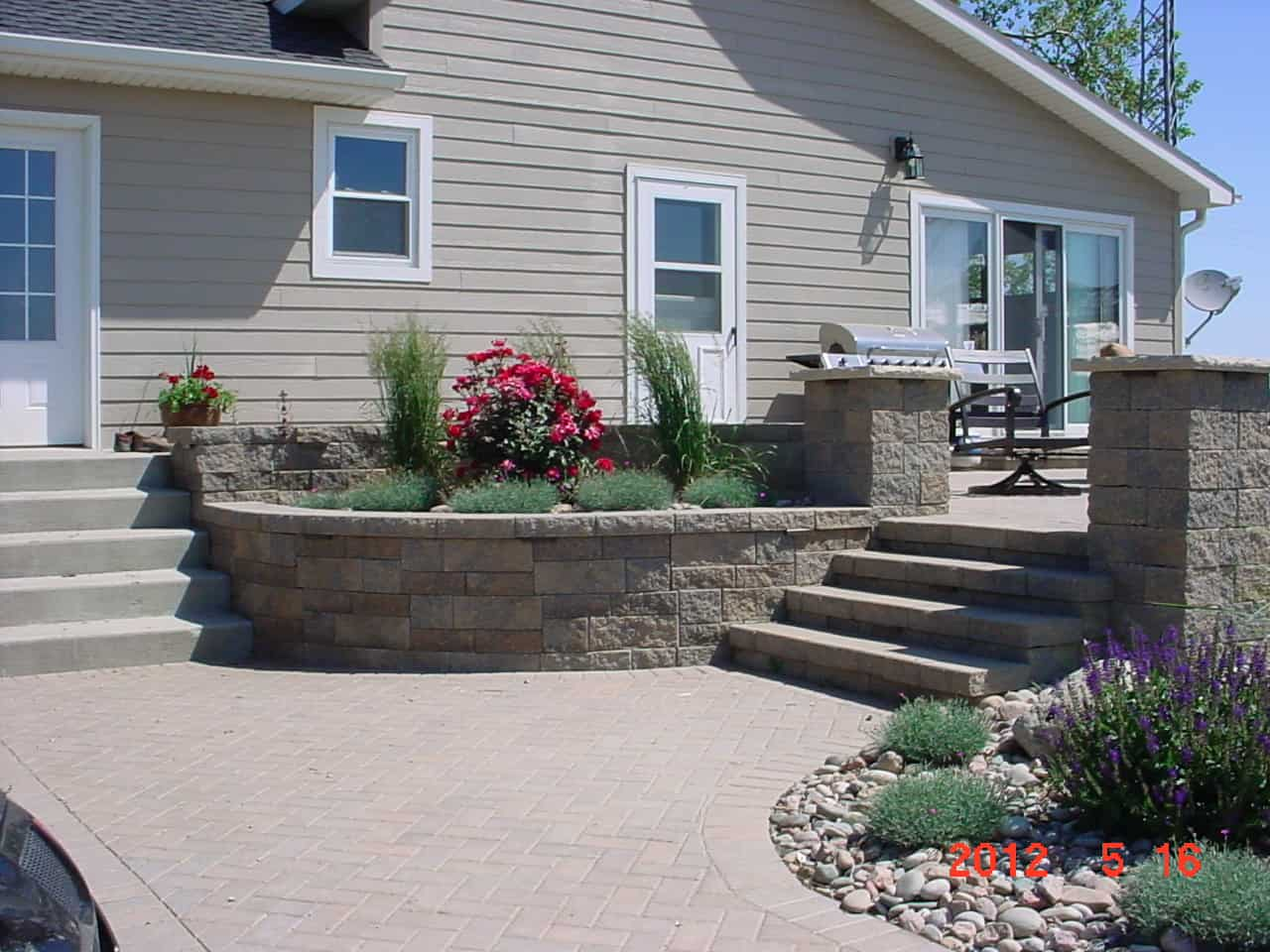 Hardscapes | Grimm's Gardens on Hardscape Patio id=16019