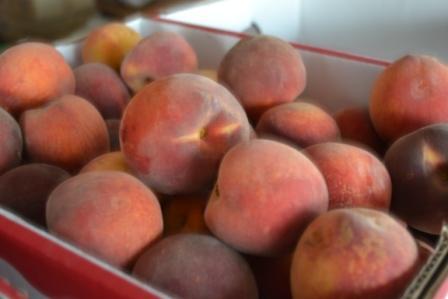 Peaches Close Up
