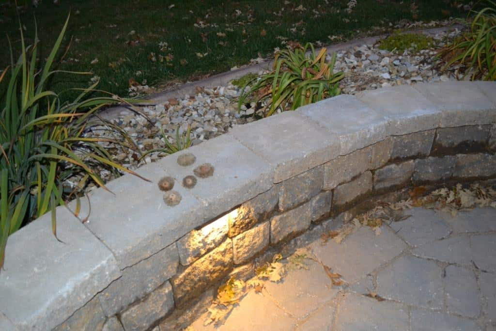 Collection of acorns on Landscape wall.