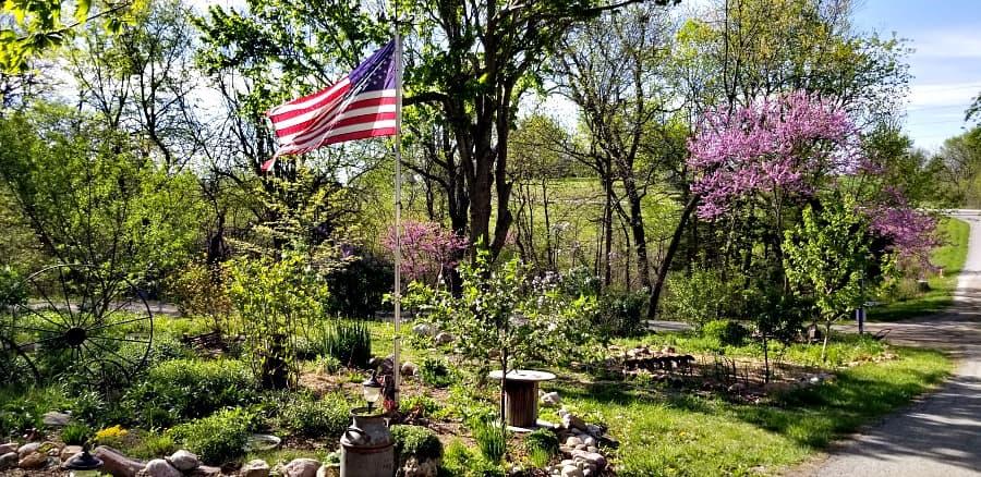 The Kansas Gardener's Entry Garden and Monarch Waystation