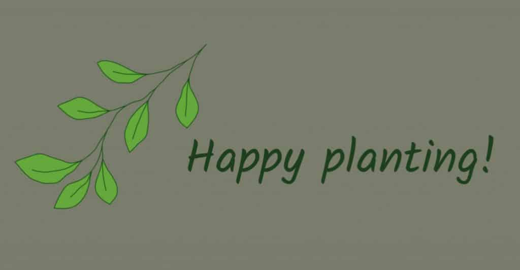 happy planting logo