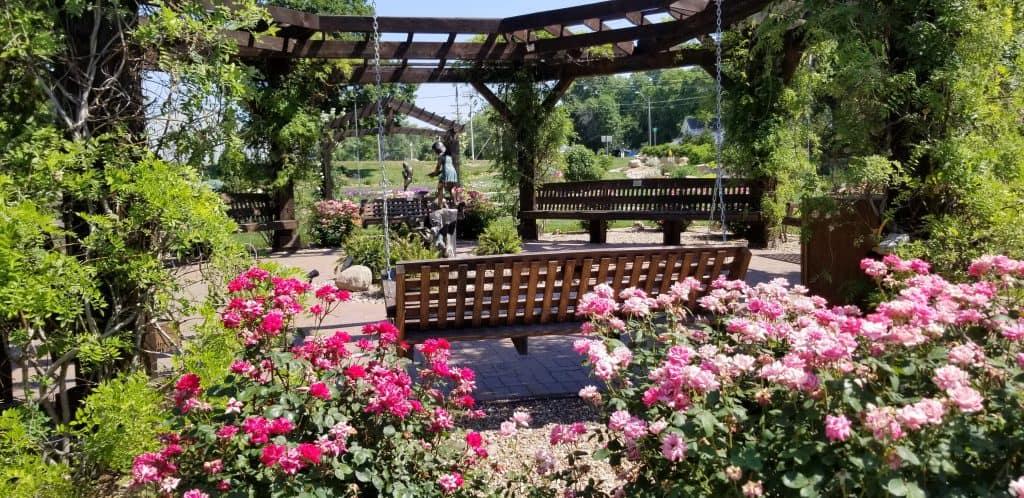 Southeast Nebraska Cancer Memorial Garden gazebo