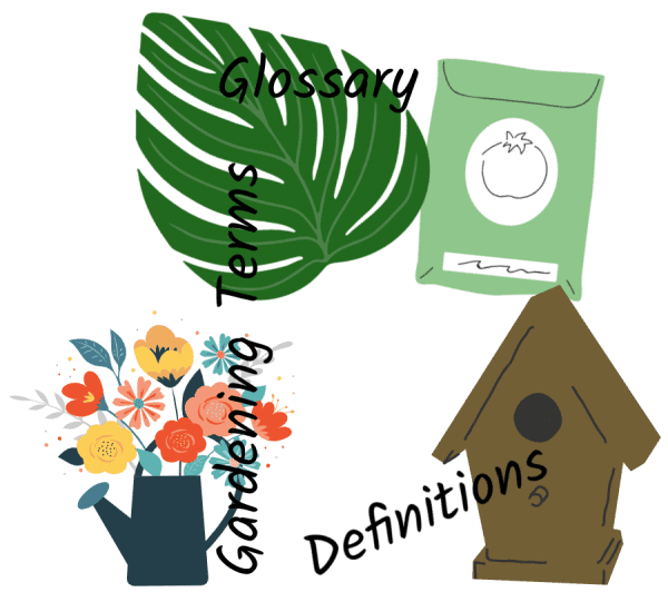 Definitions of Common Gardening Terms